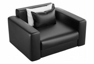 Кресло Мэдисон Черный (Экокожа)
