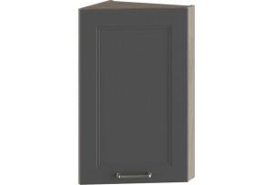 Шкаф навесной торцевой ОДРИ (Серый шелк)