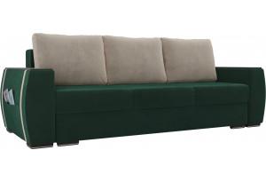 Прямой диван Брион Зеленый (Велюр)