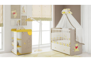 Модульная детская Polini kids Disney baby комплектация №1