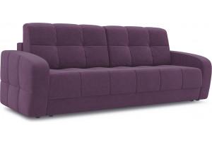 Диван «Аспен» Kolibri Violet (велюр) фиолетовый