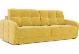 Диван «Аспен Slim» Maserati 11 (велюр) желтый