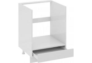 Шкаф напольный под бытовую технику с 1-м ящиком Фэнтези (Белый универс)