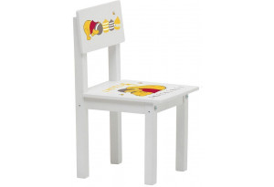 Стул детский для комплекта детской мебели Polini Kids  Disney baby 105 S Медвежонок Винни
