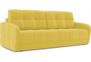 Диван «Аспен Slim» Neo 08 (рогожка) желтый