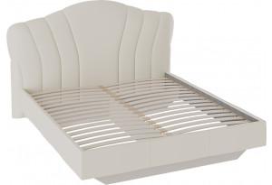 Кровать «Сабрина» с мягким изголовьем (1800) (Ткань Кашемир)