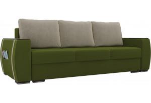 Прямой диван Брион Зеленый (Микровельвет)