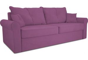 Диван «Синди» Maserati 18 (велюр), фиолетовый