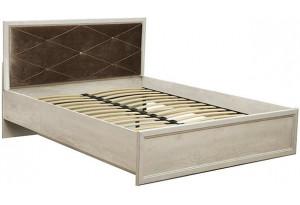 Кровать 32.25 - 01 с ортопед. осн. Сохо (ш.1400)