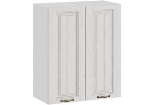 Шкаф навесной c двумя дверями «Лина» (Белый/Белый)