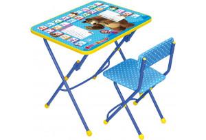 Комплект детской мебели Английская азбука: Маша и Медведь