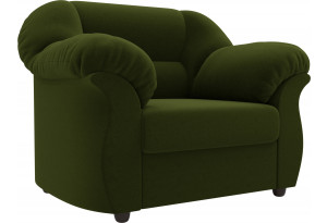 Кресло Карнелла Зеленый (Микровельвет)