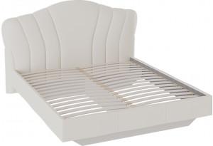 Кровать «Сабрина» с мягким изголовьем Ткань Кашемир