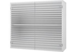 Камелия Навесной шкаф 600 мм (витрина) с стеклянными дверцами