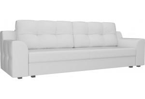 Прямой диван Сансара Белый (Экокожа)