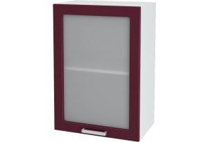 Ксения Навесной шкаф 500 мм, с дверцей и стеклом