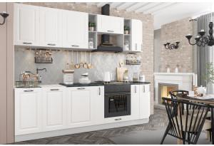 Кухня Капри 2,7 м Белый (модульная система)