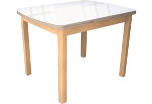 Стол «Орлеан» 1,7 (Бук натуральный/дуб сонома стекло)