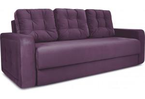 Диван «Колин» Kolibri Violet (велюр) фиолетовый