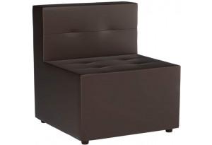 Модульный диван Домино Коричневый (Экокожа)