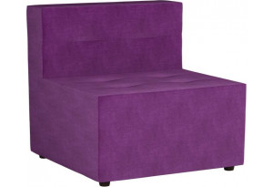 Модульный диван Домино Фиолетовый (Микровельвет)