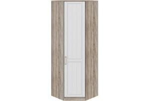 Шкаф угловой с 1-ой дверью правый «Прованс» Дуб Сонома трюфель/Крем