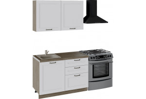 Кухонный гарнитур стандартный набор «Одри» (ОДРИ (Белый софт))