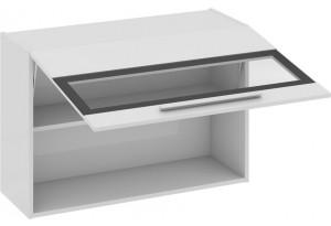 Шкаф навесной со стеклом Фэнтези (Белый универс)