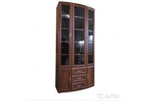 Шкаф для книг №175 полукруглый