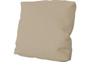 Подушка малая П1 (Poseidon Latte (иск.замша) коричнево-бежевый)
