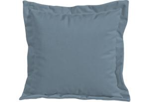 Подушка малая П2 (Poseidon Ocean (иск.замша) серо-голубой)
