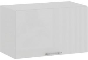 Шкаф навесной c одной откидной дверью «Весна» (Белый/Белый глянец)