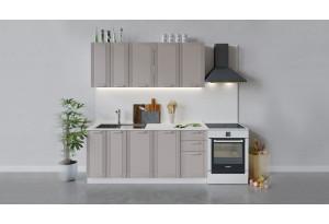 Кухонный гарнитур «Ольга» длиной 180 см (Белый/Кремовый)