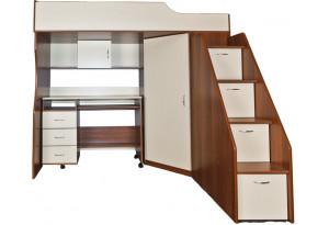 Набор детской мебели 02, кровать-чердак арт. 203