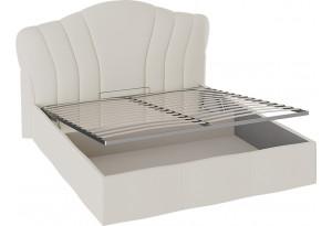 Кровать «Сабрина» с мягким изголовьем и подъемным механизмом (1800) (Ткань Кашемир)