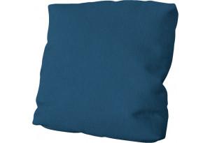 Подушка малая П1 Beauty 07 (велюр) синий