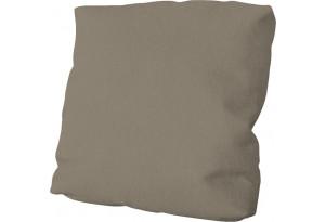 Подушка малая П1 (Poseidon Mocco (иск.замша) светло-коричневый)