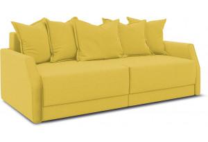 Диван «Люксор Slim» Neo 08 (рогожка) желтый