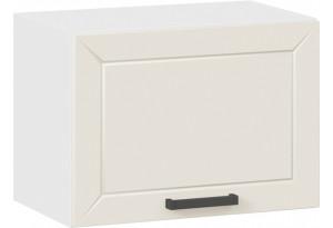 Шкаф навесной c одной откидной дверью «Лорас» (Белый/Холст брюле)
