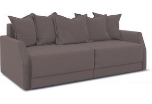 Диван «Люксор Slim» Neo 12 (рогожка) коричневый