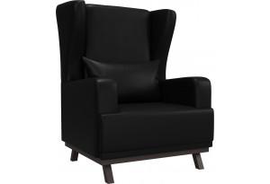 Кресло Джон Черный (Экокожа)
