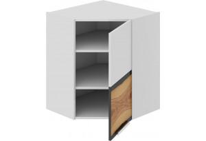 Шкаф навесной угловой с углом 45 (правый) Фэнтези (Вуд)