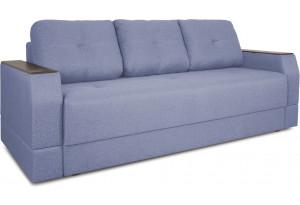 Диван «Дастин» (Poseidon Blue Graphite (иск.замша) серо-фиолетовый)
