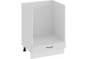 Шкаф напольный под бытовую технику «Лина» (Белый/Белый)