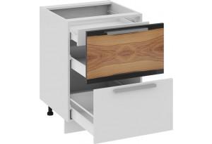 Шкаф напольный с 2-мя ящиками и 1-м внутренним Фэнтези (Вуд)