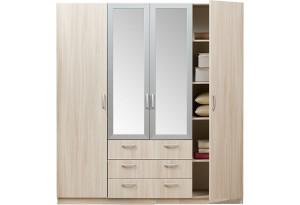 Шкаф Эко 5.15 4-х дверный