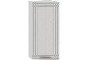 Шкаф навесной торцевой «Ольга» (Белый/Белый)