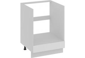 Шкаф напольный под бытовую технику с 1-м ящиком (БЬЮТИ (Белая))