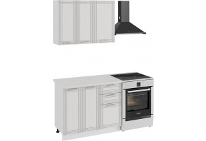 Кухонный гарнитур «Ольга» стандартный набор (Белый/Белый)