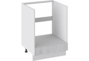 Шкаф напольный под бытовую технику с 1-м ящиком (ПРОВАНС (Белый глянец/Санторини светлый))